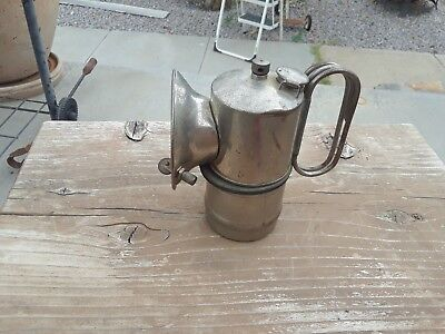 ANTIQUE Miners  ITP - It's Trouble Proof - CARBIDE LAMP