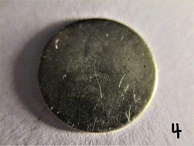 U.S. Coin: Three Cent Silver (Date illegible) (#4)