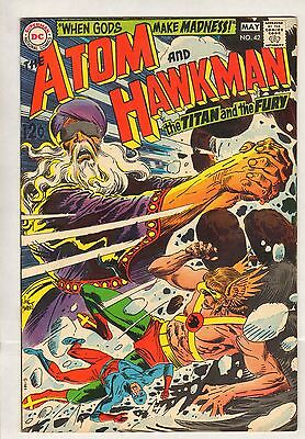 Atom And Hawkman #42 (VF/NM) (1969, DC) HIGH GRADE!