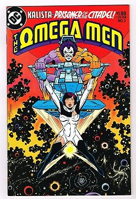 Omega Men #3 1st Appearance of Lobo