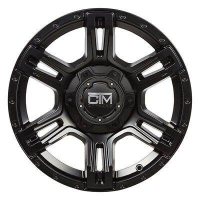 Ctm Offroad- Viking 16X7.5 Satin Blk- Wheel And Tyre Package- Delmax All Terrain