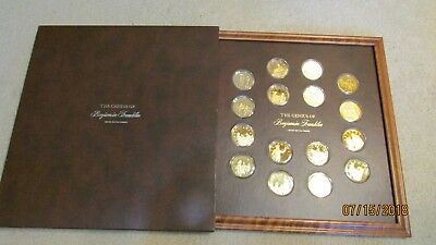 The Genius Of Benjamin Franklin Limited Edition Gold On Sterling Silver Proofs