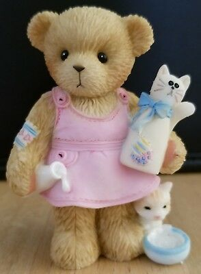 RARE NEW Cherished Teddies - European Exclusive - Charlotte - Friendship 4004383