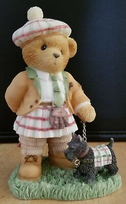 ULTRA RARE NEW Cherished Teddies - European Exclusive - Callum - 116996