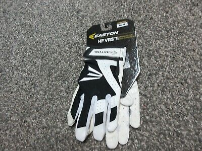 New Easton HF VRS II Fastpitch Softball Batting Gloves  Women's Size M Medium