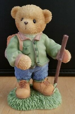 RARE NEW Cherished Teddies - European Exclusive - Payton - 116999 - Hiker
