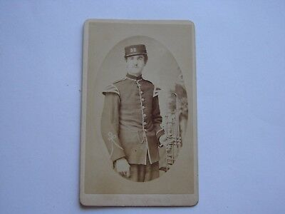 Canada Early Military Cabinet Photo 32nd Bruce Battalion of Infantry c.1860-1880