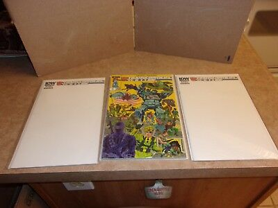Transformers Vs G. I. Joe Volume 1 Plus Two Special Blank Sketch Variant Covers