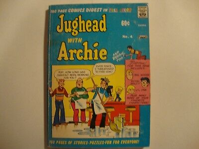 Jughead with Archie Digest #4 - Sep 1974 - Archie - Used