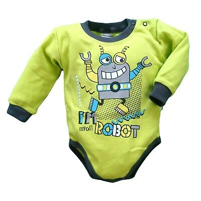 BNWT Baby Toddler Boys Bodysuit /Playsuit/ SOFT*100% Cotton 3-6/9-12/12-18 Month