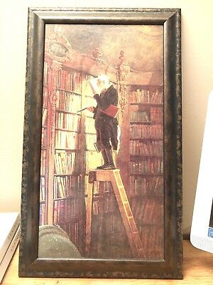 Auction find: Metaphysik Man in a Library Portrait