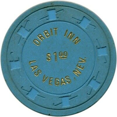 $1.00 Orbit Inn casino chip, Las Vegas, NV - From 1976