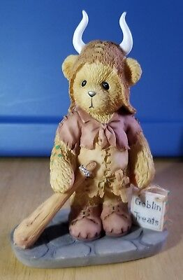 RARE NEW Cherished Teddies - Olaf - Halloween Viking - 848557