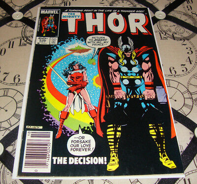 The Mighty Thor #336 (Oct 1983) Bronze Age Marvel Comic FN Condition