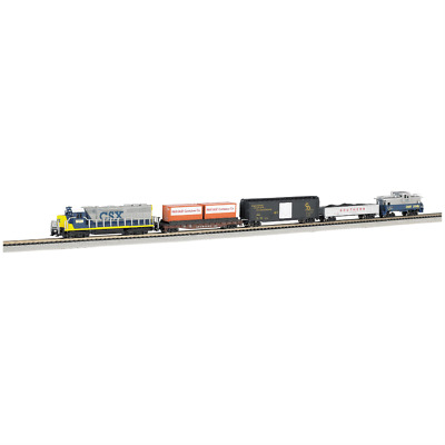 Bachmann Trains Freightmaster N Scale Ready To Run 60 Piece Electric Train Set