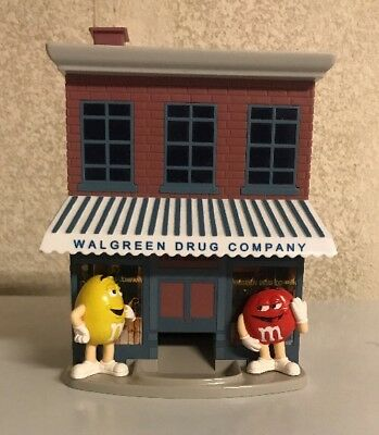 M&M's Candy Dispenser Walgreens First Store Collector's Edition