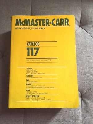 McMASTER-CARR CATALOG 117 LOS ANGELES, CALIFORNIA