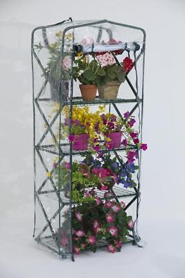FlowerHouse Plant Tower X-Up Portable Greenhouse with Integrated Shelves