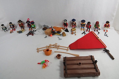 Huge Lot of Playmobil Rare & Retired Pirates - Wonderful Collection