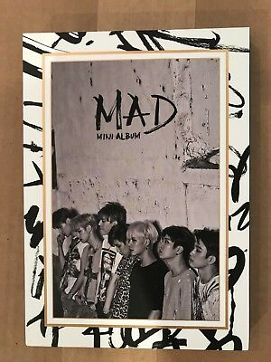 Got7 MAD  4th mini album - vertical version (no photo card) - Good Condition