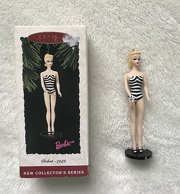 1994 Hallmark Keepsake Ornament BARBIE Debut 1959 Christmas