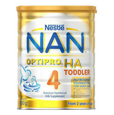 NEW Nestle NAN OPTIPRO HA Stage 4 Toddler Milk Powder Tin 800g