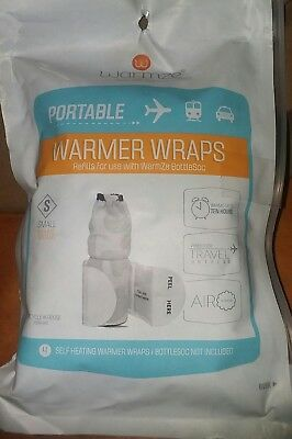 Portable Bottle Warmer 4-Pack Refills Fits Easily Diaper Bag/Purse Airactivated