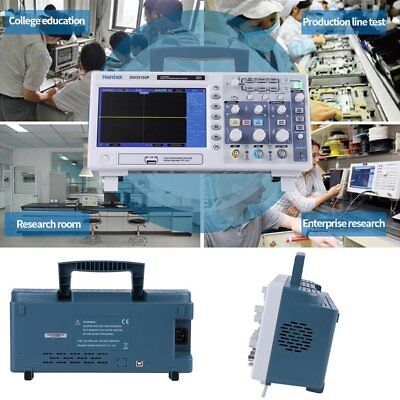 "DSO5102P Digital Oscilloscope 100MHz 1Ga/s 2 Channels 7"" TFT LCD USB Lab  HE"