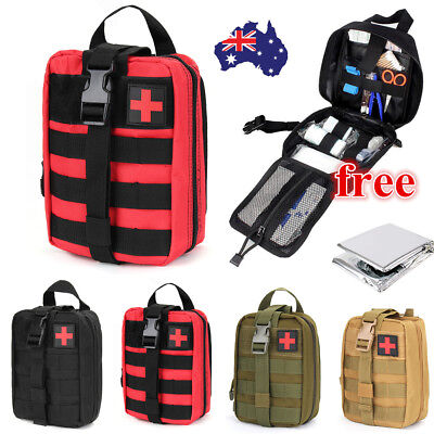 Travel Emergency Survival Bag Mini Portable First Aid Kit For Home & Outdoor WH
