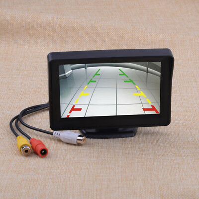 """4.3"""" TFT LCD Screen Car Rear View Back Up Monitor For Parking Reverse Camera DVD"""