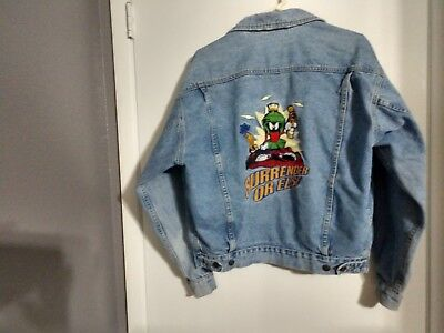 Marvin The Martian Denim Jacket space Gear In excellent condition