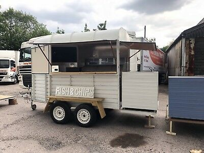 Streetfood Trailer With Frying Range Fish & Chippy