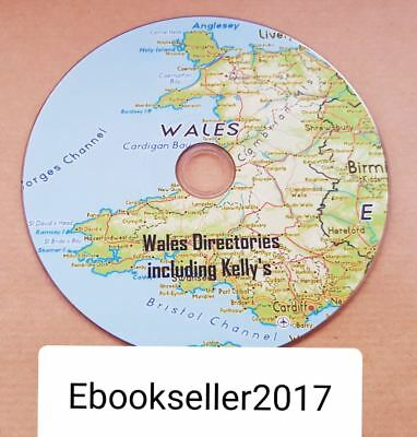 Wales historic directories ebooks, including Kellys directory pdf kindle on disc