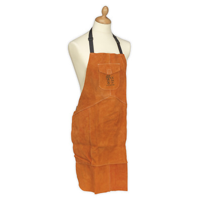 NEW Leather Welg Apron Heavy-Duty-SSP146 UK
