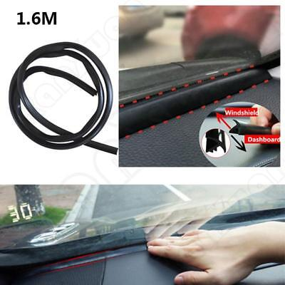For Auto Car Dashboard Windshield Rubber 1.6m Soundproof Dustproof Sealing Strip
