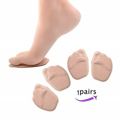 1Pair Medical Metatarsal Soft Pads for Women Forefoot Non-Slip fit High Heel Hot