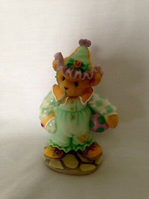 Cherished Teddies Retired Jeannette Laughter is the Best Medicine Clown 118386