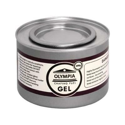 Olympia CE241 Chafing Gel Fuel Olympia CE241, 200 g (Pack of 12)