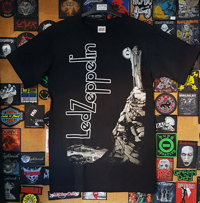 LED ZEPPELIN STAIRWAY TO HEAVEN Black T-shirt / Camiseta New Size S,M,L,XL