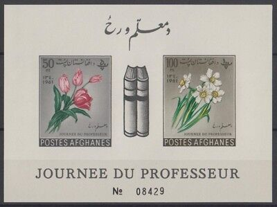 Afghanistan 1961 Bloc de timbres neuf MNH, TB