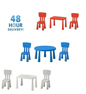 Mammut Set Kids Children chair table Plastic Toddlers Furniture Indoor,Outdoor