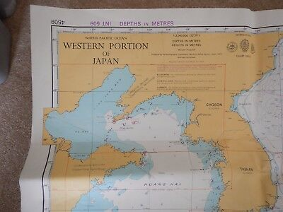2 vintage shipping maps western portion of Japan,singapore straight to Kalimanta