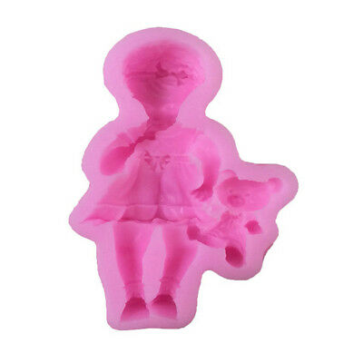 Horse Carriage Silicone Fondant Mold DIY Chocolate Mould Cake Decorating ToolM/&C