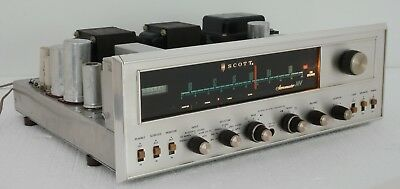Vintage Scott 340-B Stereo Tube Receiver : Good Working Condition!!!