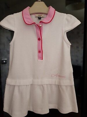 Baby Girl Armani Authentic 18 MONTHS  Dress BRAND NEW NEVER WORN