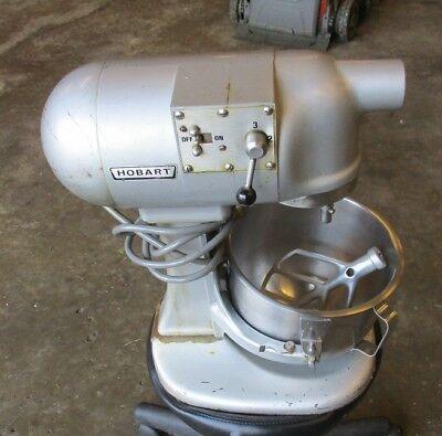 HOBART N-50 MIXER With BOWL and BEATER, Used - LOCAL PICKUP, LIMITED SHIPPING