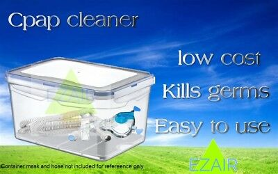 CPAP BIPAP Cleaner Sanitizing Machine mask fresh clean and easy to use any brand