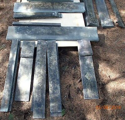 2 Antique Marble Fireplace Stone Mantels Appear Complete Carved Stone Very Nice