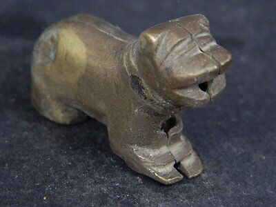 Ancient Brass Lion Islamic 1800 AD No Reserve  #GL1691