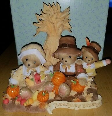 RARE Cherished Teddies - Only 1,000 & Signed - Christine Brian & Alex - 4020555